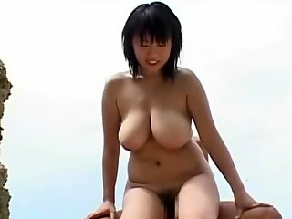 Rin Aoki Fucking on the Beach
