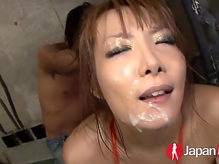 JAPAN HD Japanese Bukkake and Squirting