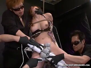 Asian woman squirts all over her white panties