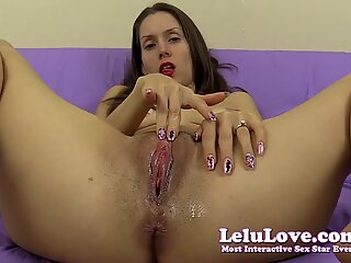 Giving YOU a cum countdown while I finger my wet pussy