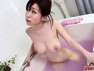 Miina Kanno gets busy with cock - More at Japanesemamas.com
