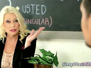 Blonde Mature Screwed