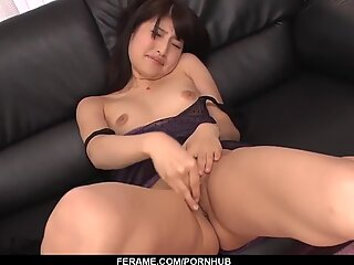 Naughty scenes of dirty porn with slim Saki Kobashi