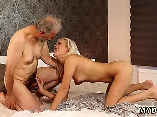 Chinese daddy bear Surprise your girlcrony and she will nail with your dad