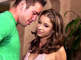 Sensational Presley Hart hops on Johnny Castle for a ride