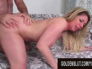 Golden Slut - Pounding Mature Hotties in Doggystyle Compilation Part 5