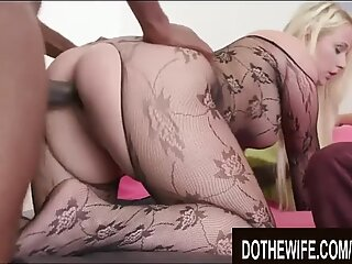 Do The Wife - Naughty Wives Fucked From Behind by Black Studs Compilation