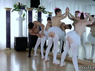 China party and college blowjob cumshot Ballerinas